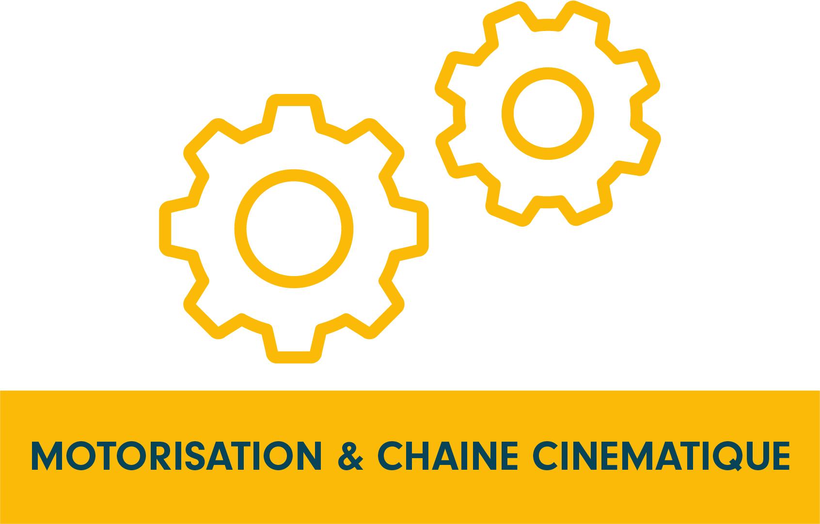 pictogramme, programme de recherche Motorisation & chaine cinématique