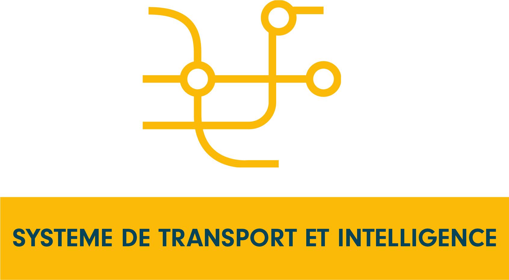 Pictogramme programme de recherche système de transport et intelligence