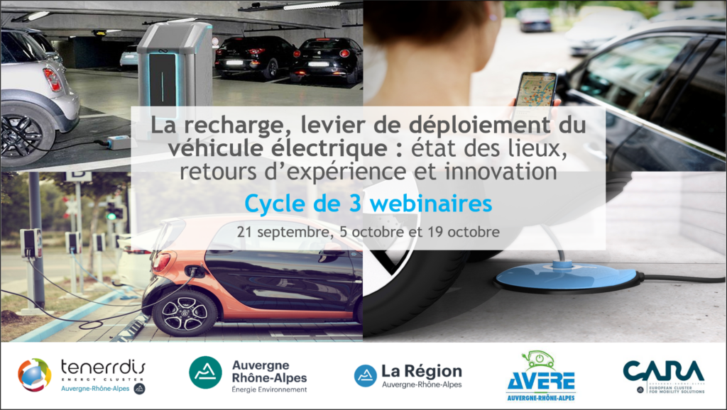Webinaires : la recharge, levier de déploiement du véhicule électrique.