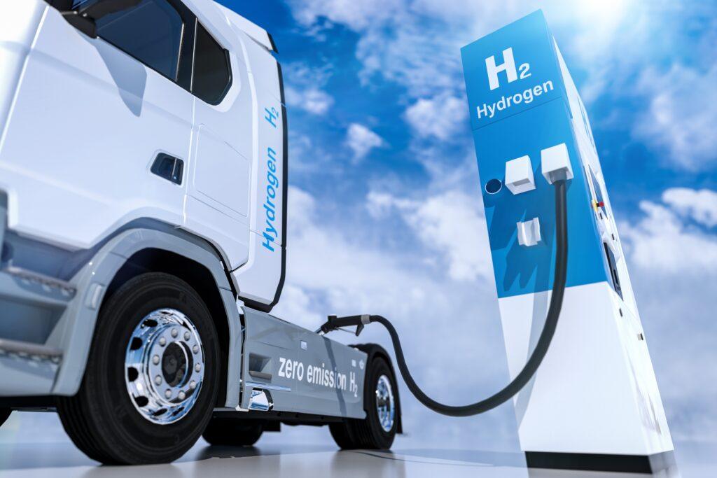 borne de recharge hydrogène