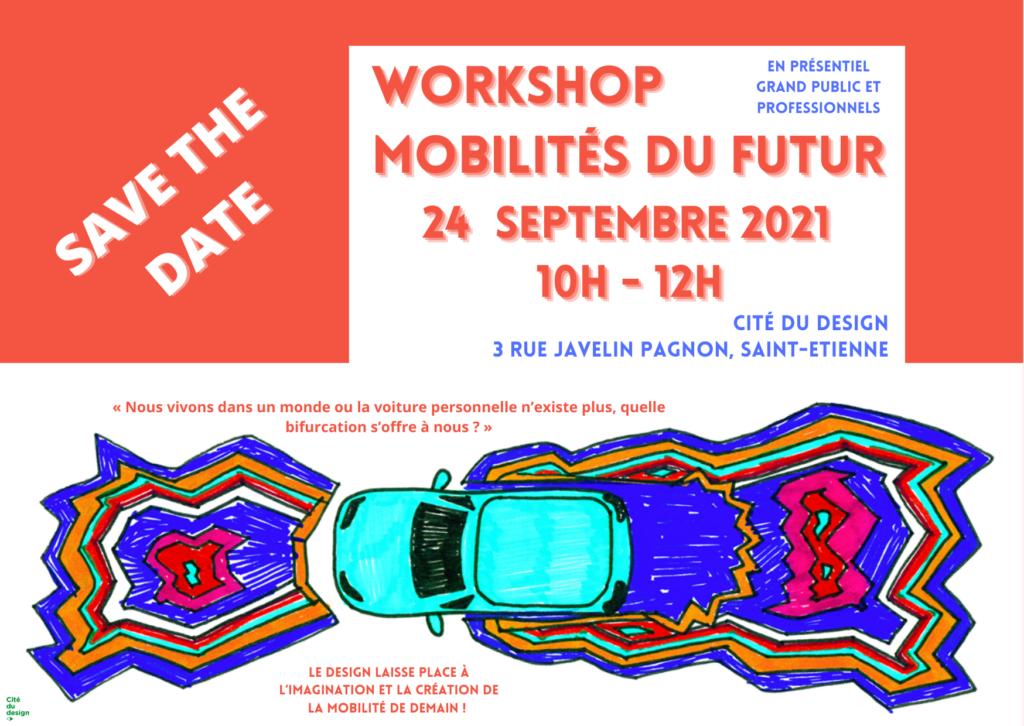 Visuel Workshop Mobilités du futur