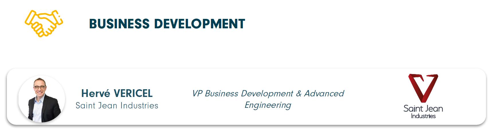 Directeur du programme business développement