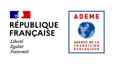 Logo République française & ADEME
