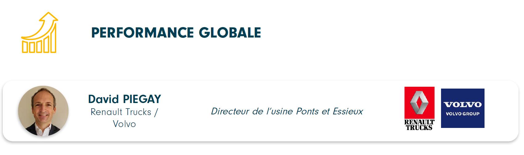 Directeur du programme performance globale