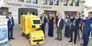 expérimentation Caretta véhicules autonomes